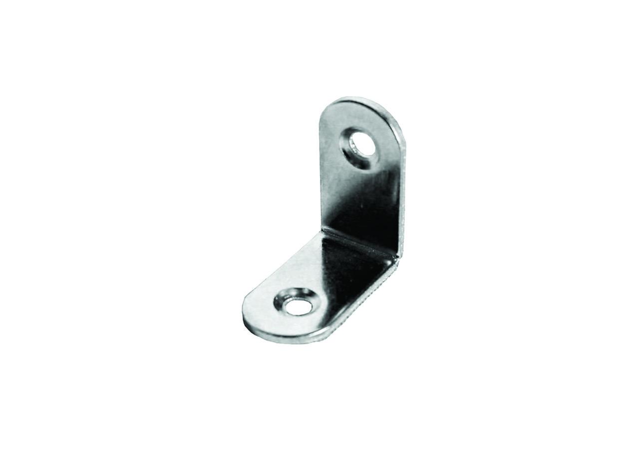 Уголок металлический с двумя отверстиями