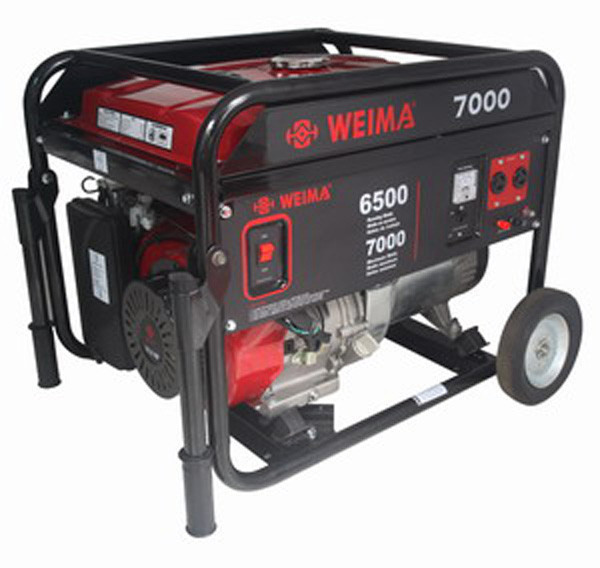 Генератор бензиновый WEIMA(Вейма) 7000 (6,5кВт - 7,0кВт)