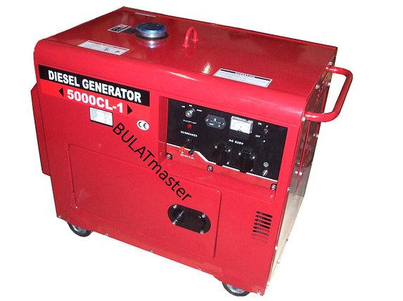 Дизельный генератор WEIMA (Вейма) WM5000E (5,5 кВт) SILENT(шумоизоляционный корпус), фото 2