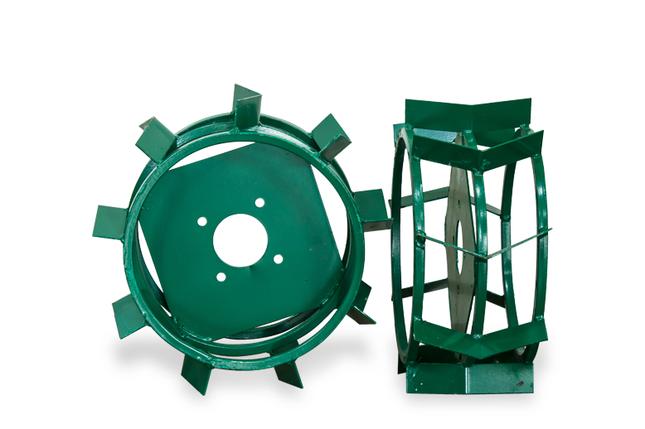 Грунтозацепы для мотоблока(железные колеса) ф 380/160 труба 15х15, фото 2
