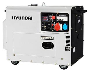 Дизельный генератор Hyundai DHY 8000SE-3, фото 2