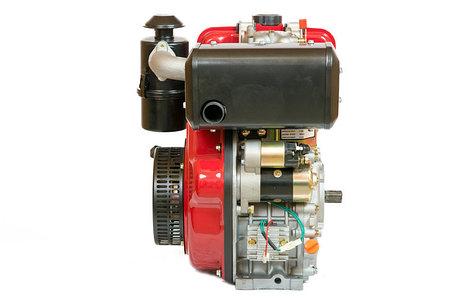 Двигатель WEIMA(Вейма) WM186FBSE (R) (шпонка, 9л.с. дизель) с электростартером, фото 2