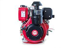 Двигатель WEIMA(Вейма) WMC 188FBE - T (шлиц, дизель 12л.с.) с электростартером