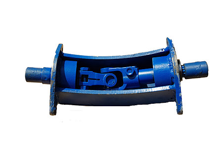 Угловой редуктор для фрезы (переходник карданный для фрезерного культиватора) Мотор Сич, МТЗ, Грасхопер, фото 2