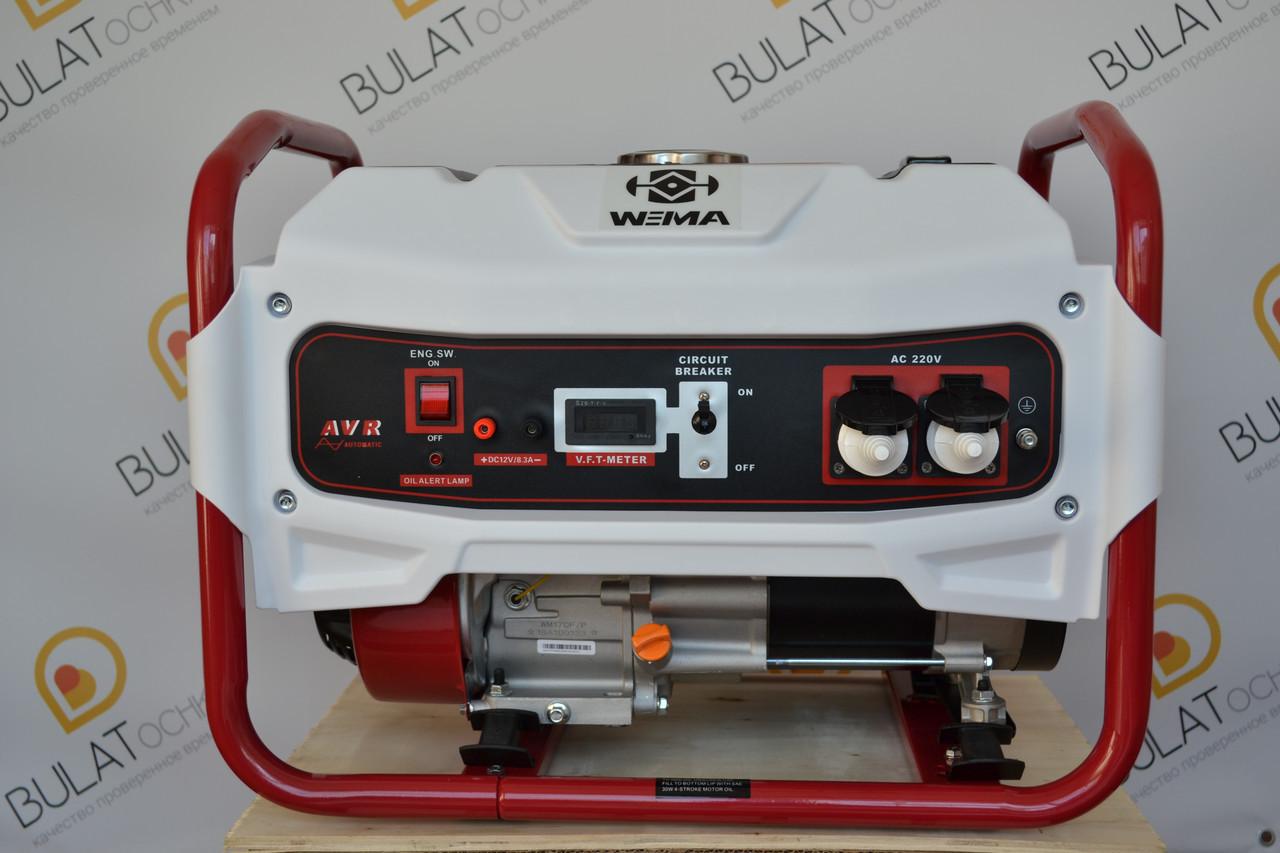 Бензиновый генератор WEIMA WM2500B (2,5 кВт) DELUXE