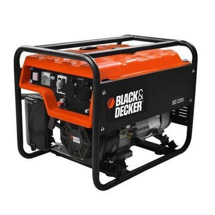 Генератор бензиновый Black+Decker 2000 Вт (BD2200), фото 2