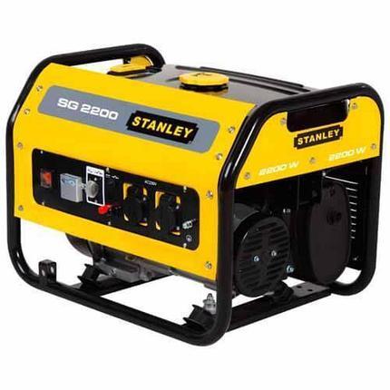 Бензиновый генератор STANLEY SG2200, фото 2