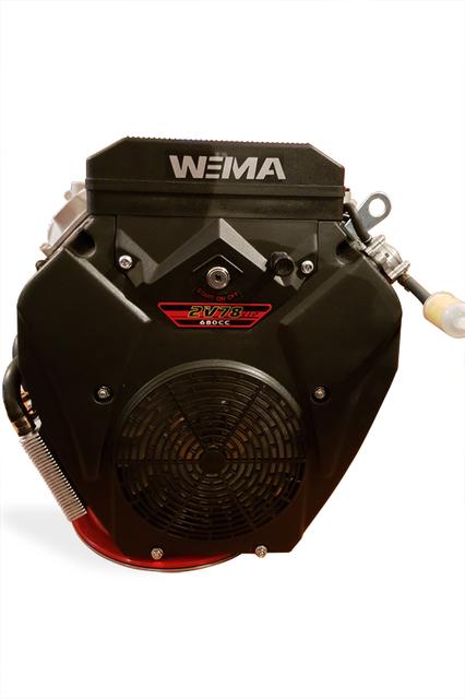 Двигатель бензиновый WEIMA WM2V78F (2 цил., вал шпонка, 20 л.с.)