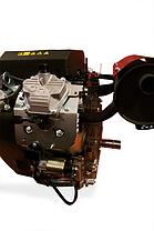 Двигатель бензиновый WEIMA WM2V78F (2 цил., вал шпонка, 20 л.с.), фото 2