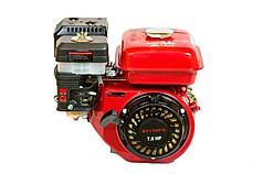 Двигатель бензиновый WEIMA  ВТ170F-L(R) (редуктор цепь 1/2, 1800об/мин, шпонка), бензин 7.0л.с.