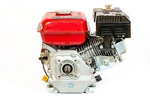 Двигатель бензиновый WEIMA  ВТ170F-L(R) (редуктор цепь 1/2, 1800об/мин, шпонка), бензин 7.0л.с., фото 2