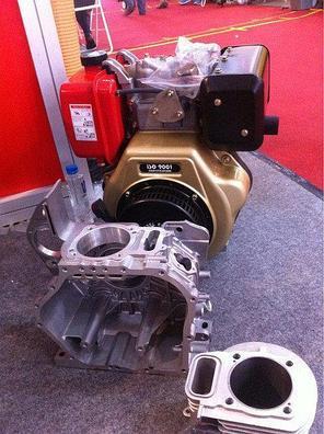 Двигатель дизельный Weima WM188FBE (вал под шпонку) 12 л.с. эл.старт, съемный цилиндр , фото 2