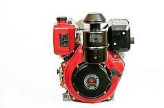 Двигатель дизельный Weima WM178FES (R) 6,0 л.с. (вал ШПОНКА, электростартер, 1800об/мин) + редуктор