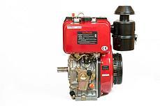 Двигатель дизельный Weima WM188FBSE (R) (1800 об/мин, шпонка, 12 л.с. эл.старт, редуктор) , фото 2