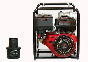 Мотопомпа бензиновая WEIMA WMQGZ100-30 NEW 18 л.с. (130 куб.м/час) , фото 2