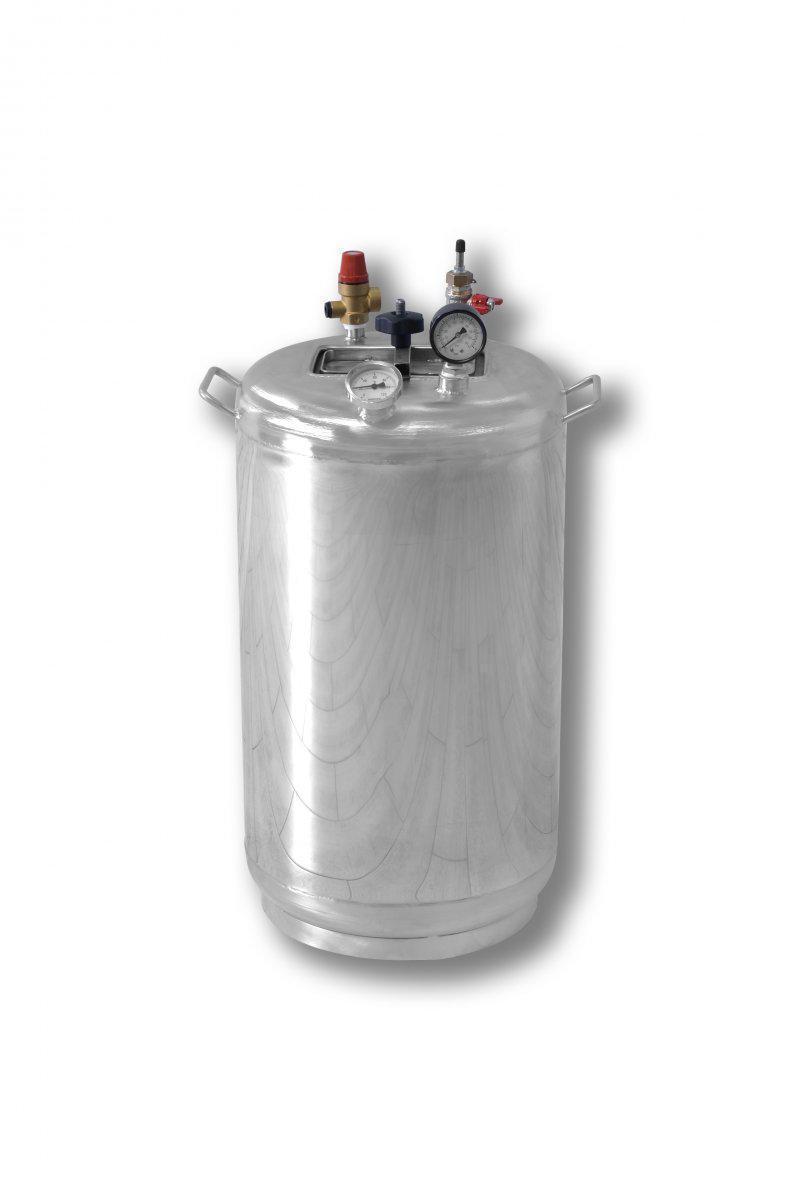 Автоклав газовый Бук Гуд 32 (32 банки по 0,5 л). Крышка поджимается изнутри