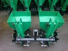 Картофелесажалка двухрядная Володар КСН-90 (3т) (90 л, для минитрактора под 3-х точечную навеску)