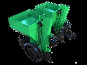 Картофелесажалка двухрядная Володар КСН-90 (3т) (90 л, для минитрактора под 3-х точечную навеску) , фото 2