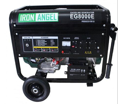 Генератор Iron Angel EG 8000 E, фото 2