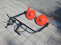 Косилка роторная ременная КР-01 ШИП кованые ножи (с ремнем, для МБ с водяным охлаждением) , фото 2
