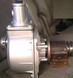 Помпа для мотоблока WM1100 (105), диам. патр.  50mm,  АЛЮМИНИЙ