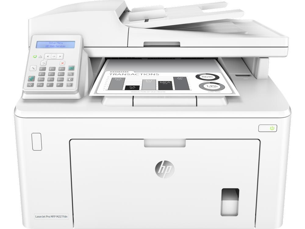 МФУ HP LaserJet Pro MFP M227fdn Printer