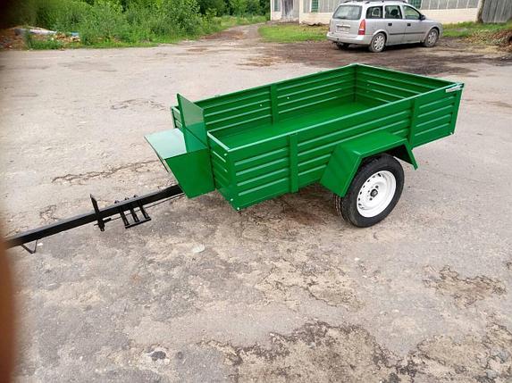 Прицеп мотоблочный ТМ ШИП сиденье со спинкой (190х115х38 см, под жигул. ступицу, без колес) , фото 2