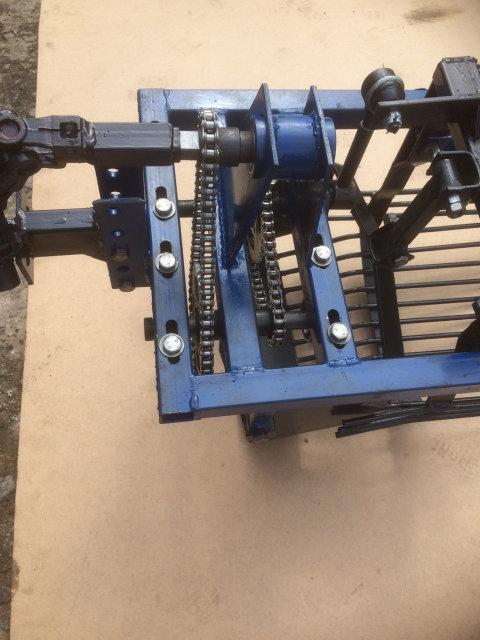 Картофелекопалка вибрационная под ВОМ мотоблока низкооборотистая (для мотоблоков 105, 135, 1100 и т.д.)