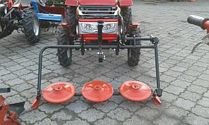 Косилка роторная КР-06 ШИП для мототрактора (под гидроцилиндр без ремня) , фото 2