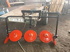 Косилка роторная КР-06 ШИП для мотоблоков без ремня