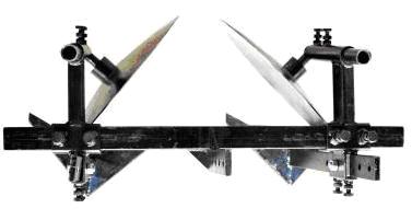 Окучник дисковый на 2-ой сцепке с пропольниками эконом Премиум, фото 2