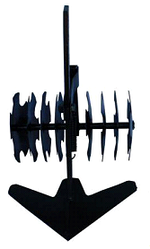Рыхлитель с пропольником регулируемый пружиной Премиум