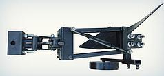 Плуг однокорпусный к мототрактору с гидравликой Премиум