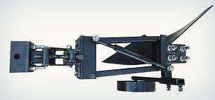 Плуг однокорпусный к мототрактору с гидравликой Премиум, фото 2