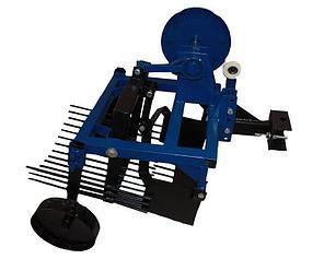 Картофелекопатель с активным ножом Премиум для мототрактора с гидравликой (Скаут), фото 2