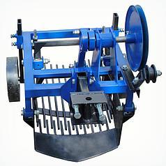 Картофелекопатель двухэксцентриковый вибрационный Премиум для мототрактора с гидравликой (Скаут)