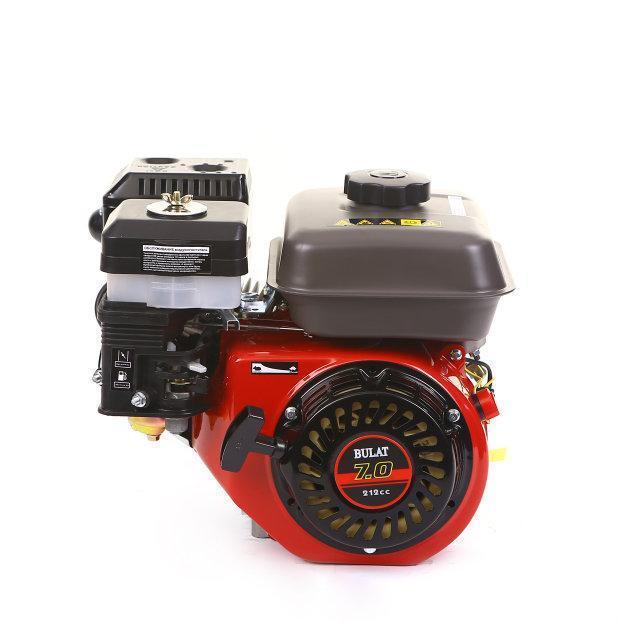 Двигатель бензиновый BULAT BW170F-T/25 (для BT1100) (шлицы 25 мм, 7 л.с.) (Weima 170)