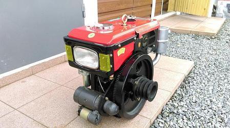 Двигатель Булат R180NЕ (дизель, 8 л.с., электростартер, водяное охлаждение) , фото 2