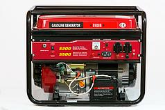 Генератор однофазный бензиновый Weima WM5500Е (5,5 кВт) электростарт
