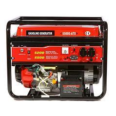 Генератор с автоматическим запуском бензиновый WEIMA WM5500 ATS (5,5 кВт, автоматика, 1 фаза)