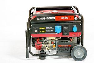 Генератор бензиновый WEIMA WM7000E (7 кВт, 1 фаза, электростартер) , фото 2