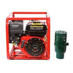 Мотопомпа бензиновая WEIMA WMQBL65-55 (высоконапорная для капельного полива, 35 куб.м/час)