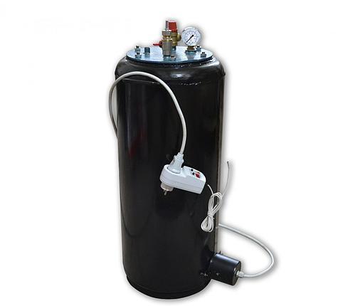 Автоклав бытовой электрический УТех40 electro Бук (40 банок по 0,5 л, универсальный) , фото 2