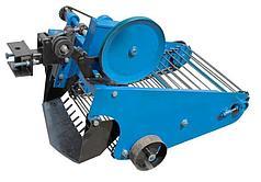 Картофелекопатель транспортерный с активным ножом Премиум для мототрактора с гидравликой Скаут