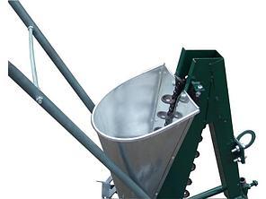 Сажалка для чеснока 1-рядная ручная Ярило с опорным колесом , фото 2