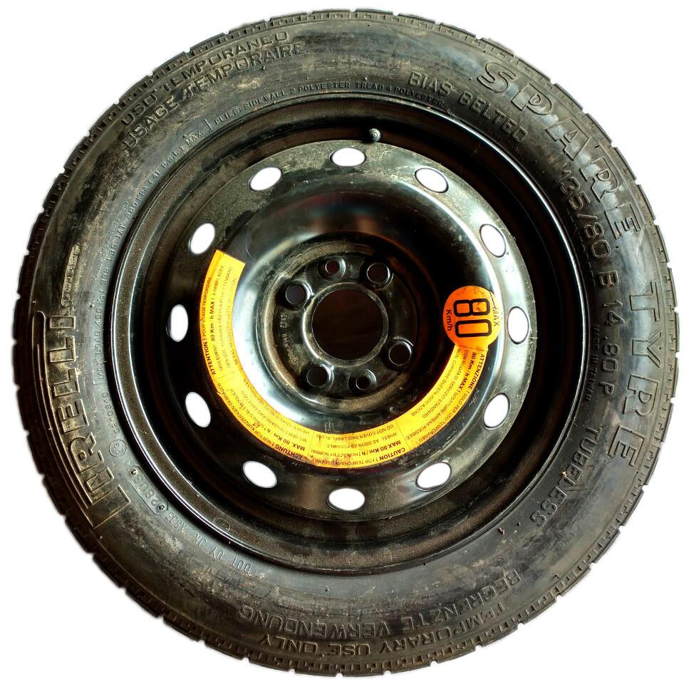 Колесо (докатка) R14 135/80 под жигулевскую ступицу