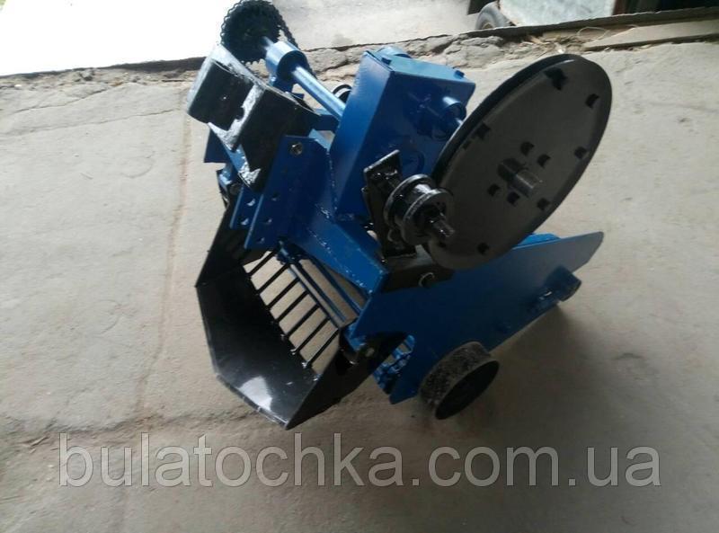 Картофелекопатель механизированный КРТ-1 (КРОТ) транспортерная