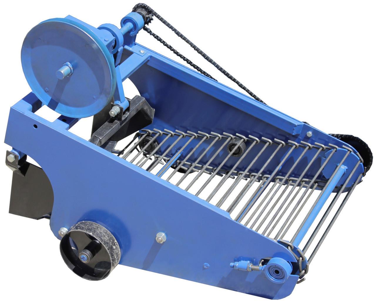 Картофелекопалка транспортерная с активным ножом Премиум (для мототракторов и тяжелых мотоблоков)
