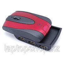 Мышь беспроводная Mouse Targus AMW3001EU Rechargeable Wireless Optical with 3-Port Hub