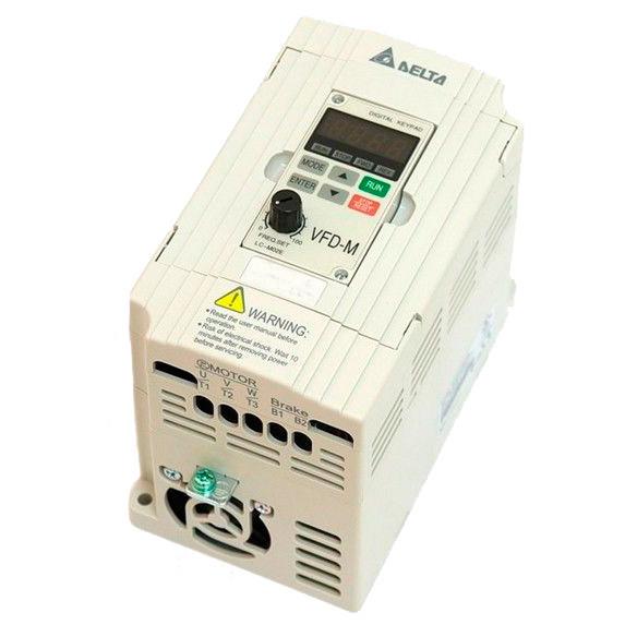 Преобразователь частоты Delta 0,75 кВт VFD-M (инвертер, VFD, частотник